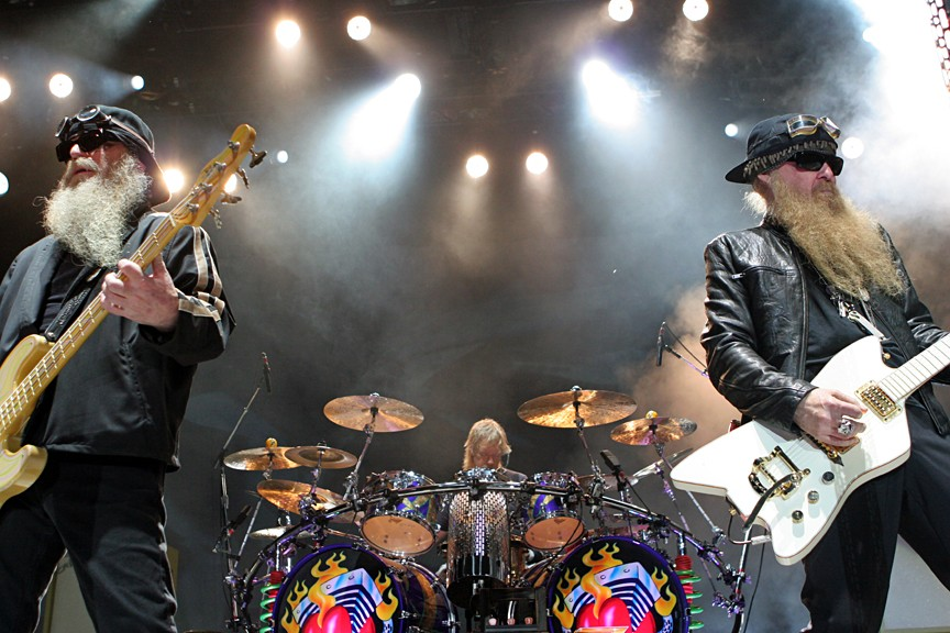 ZZ-Top kick off the 18th annual Biltmore Concert Series, 2014