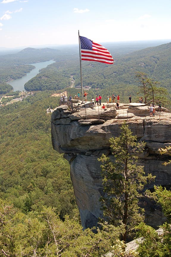 North Carolina's Chimney Rock State Park