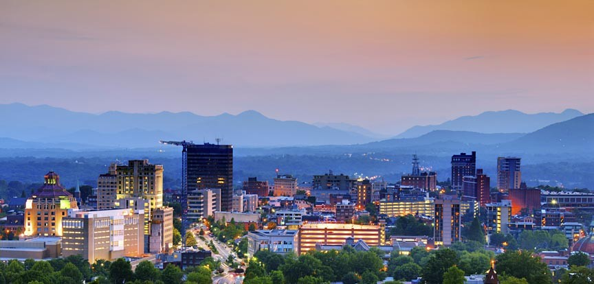 Take advantage of our Asheville Lodging Specials
