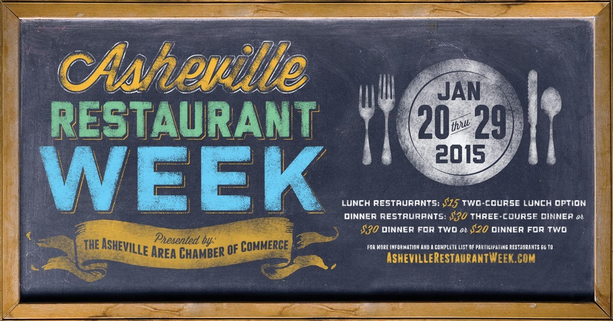 Asheville Restaurant Week 2015