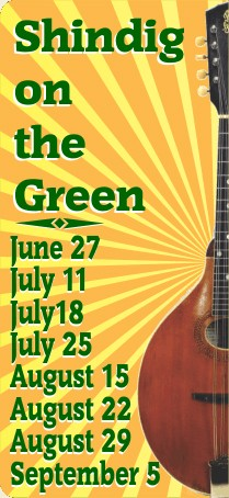 Shindig On the Green 2015