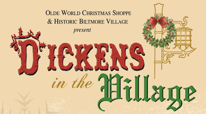 Biltmore Village Christmas Festival 2016 - Dickens in the Village