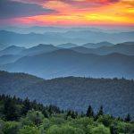 Blue Ridge Parkway Scenic Landscape