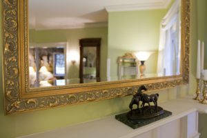 mirror and other decor