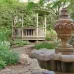 gazebo and fountain at north lodge