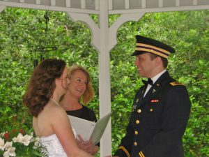 marriage in gazebo at north lodge