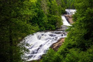 See Triple Falls on a DuPont Forest Waterfall Tour