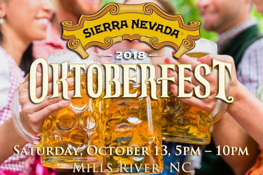 Sierra Nevada Oktoberfest 2018 in Mills River NC