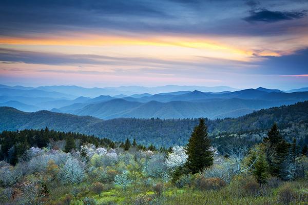 Blue-Ridge-Parkway-Spring-Asheville-NC